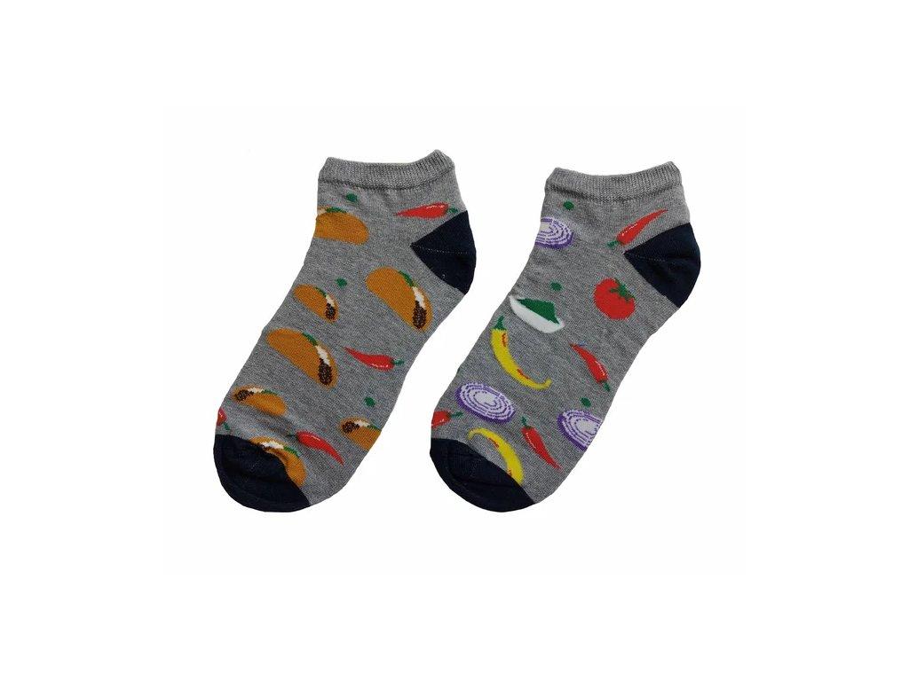 ponožky papričky