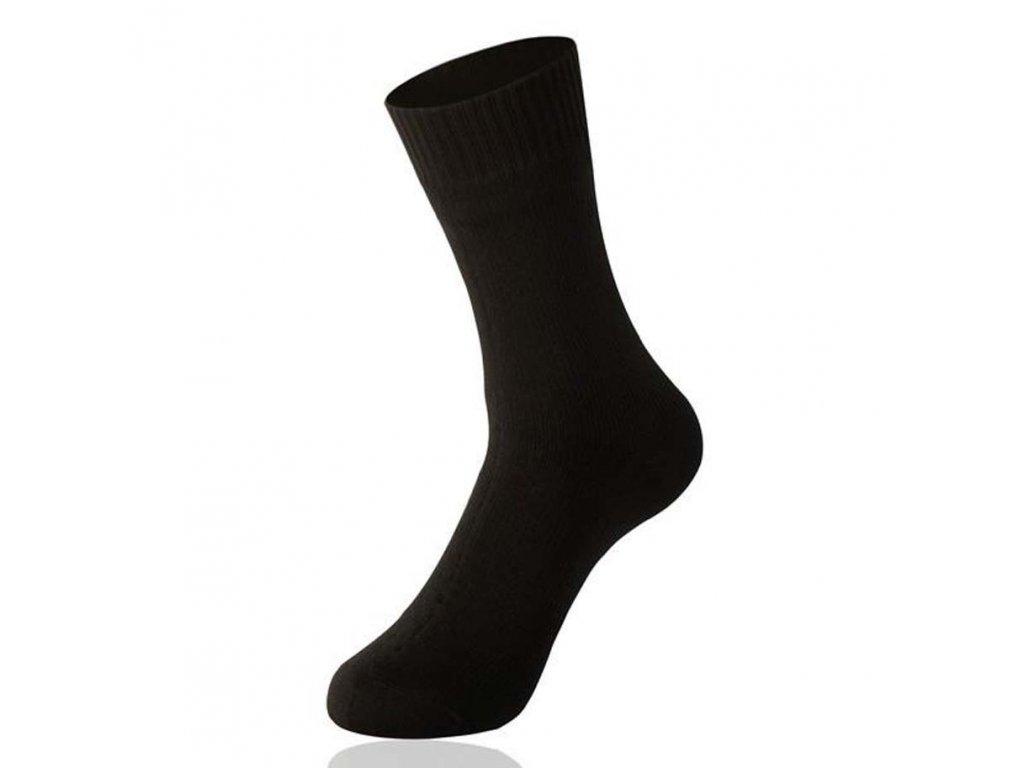 pánské ponožky bavlna černé