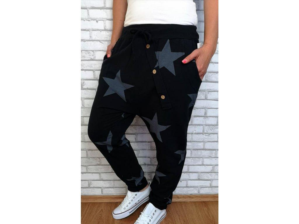 baggy hvězdy černé