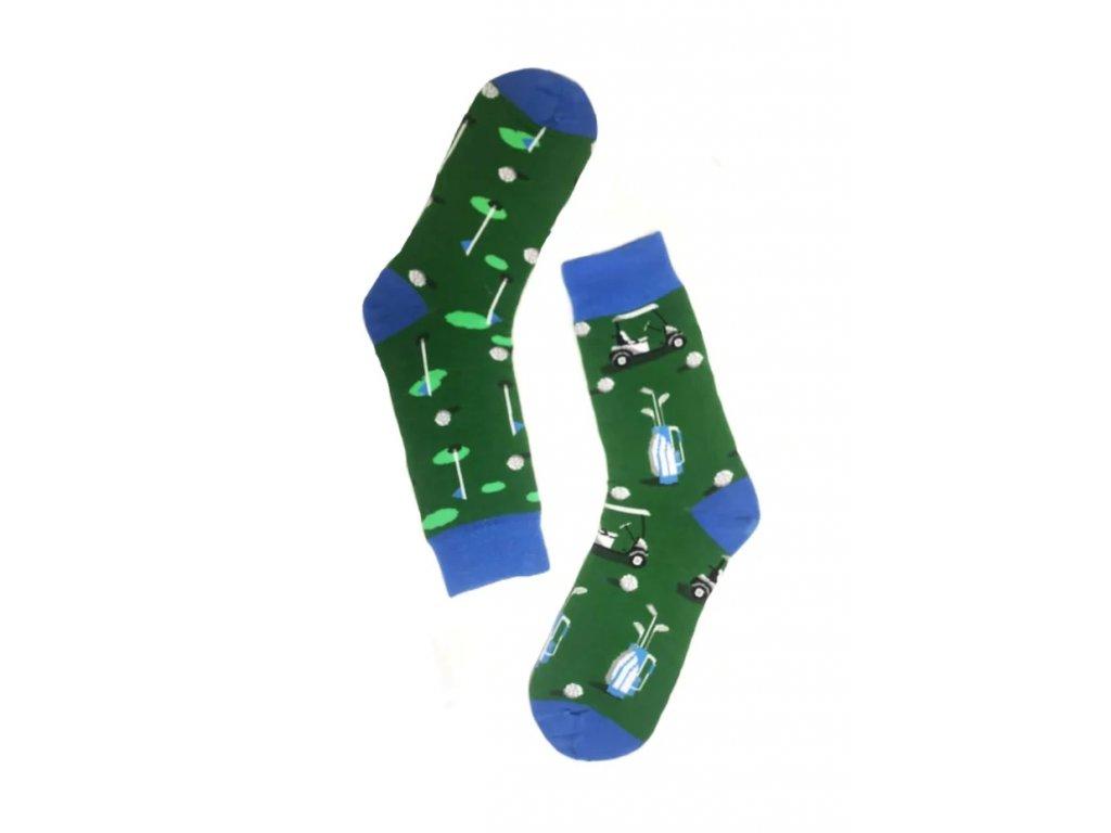 Pánské ponožky vysoké golf