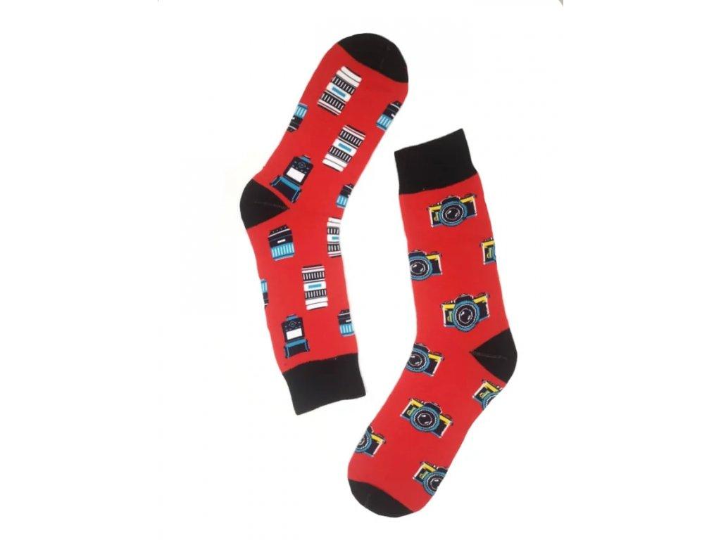 Pánské ponožky vysoké foťák