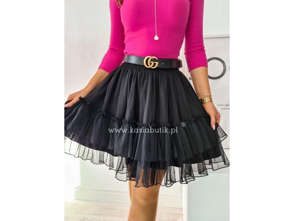 sukně krátká černá