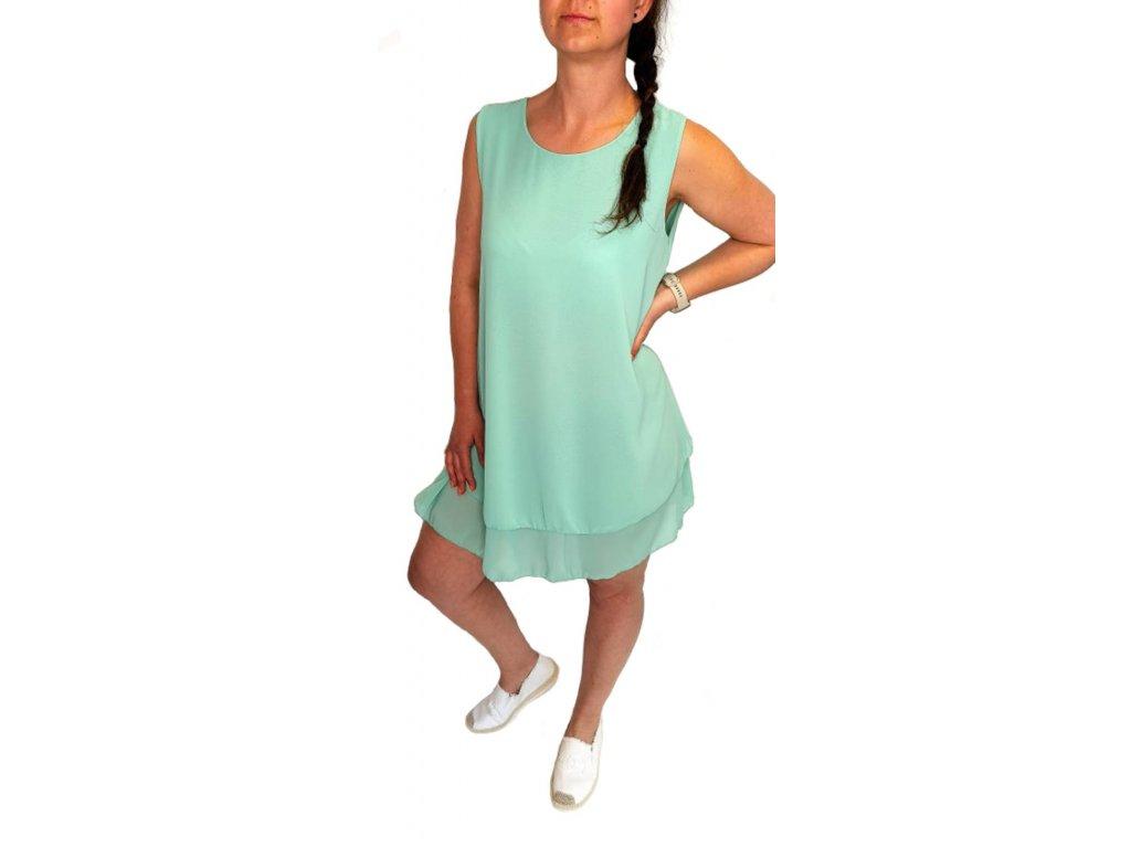 lehké šaty mint