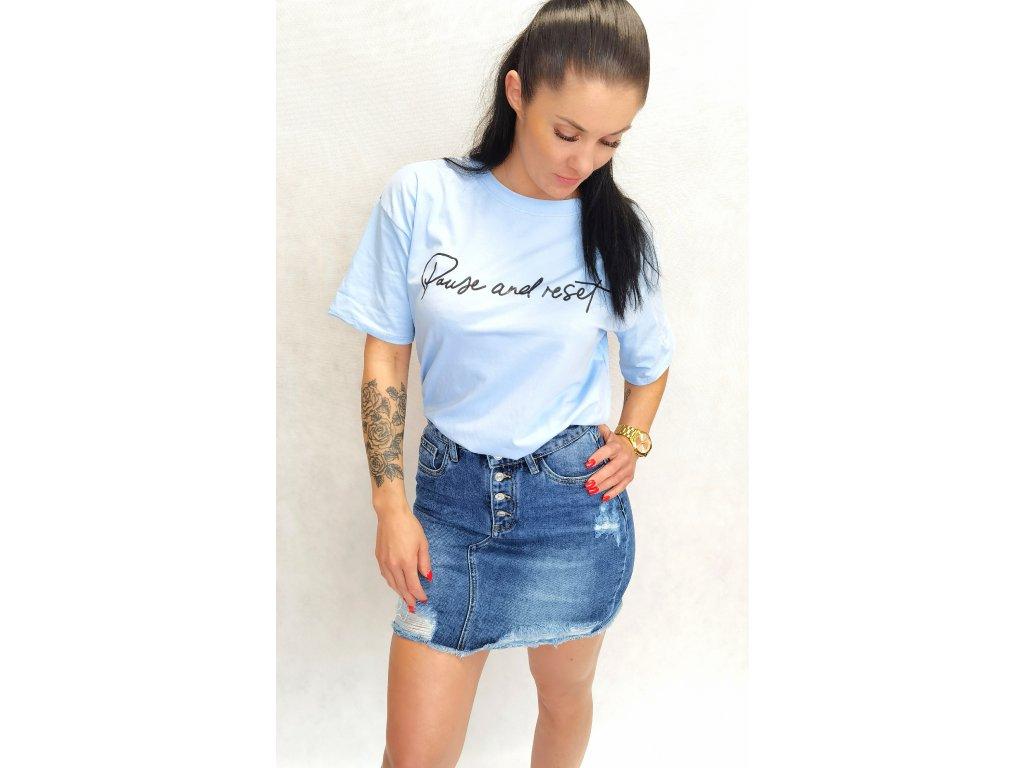 Jeans mini sukně