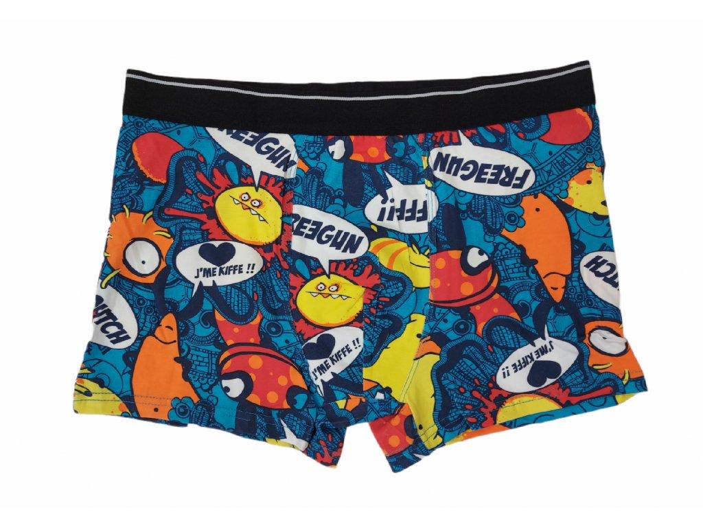 Pánské boxerky barevné typ 6