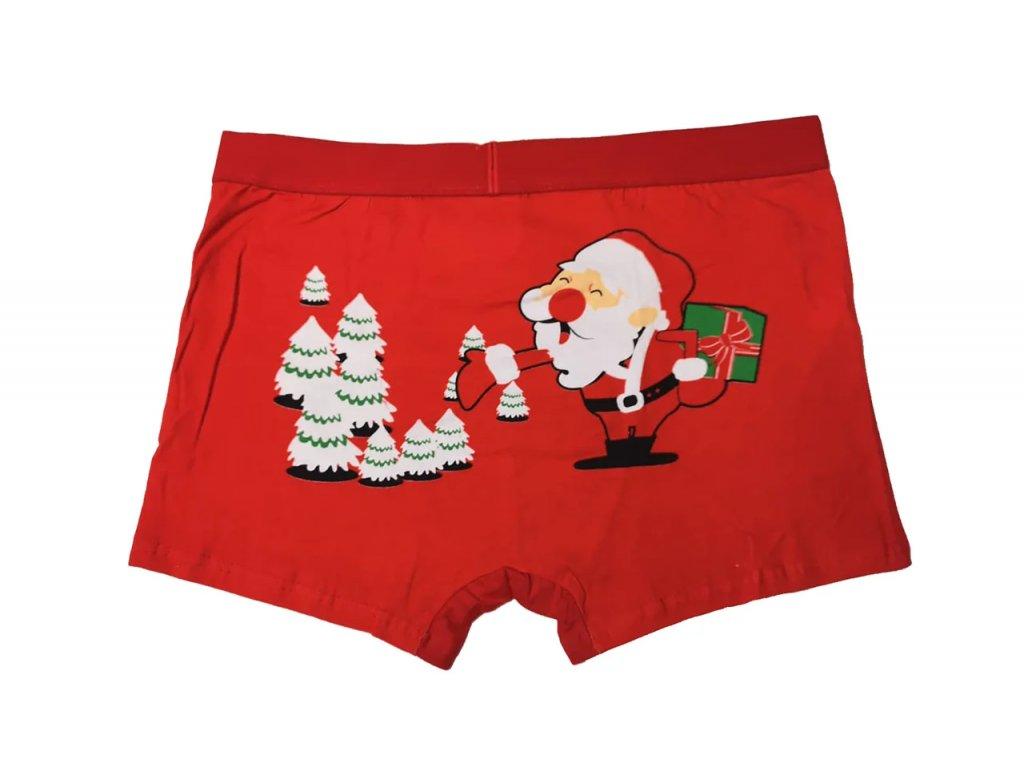Pánské Vánoční boxerky typ 5