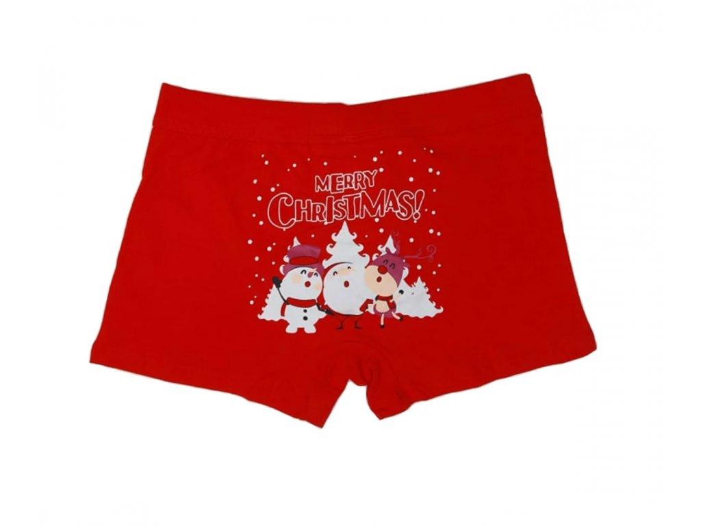 Pánské Vánoční boxerky typ 7