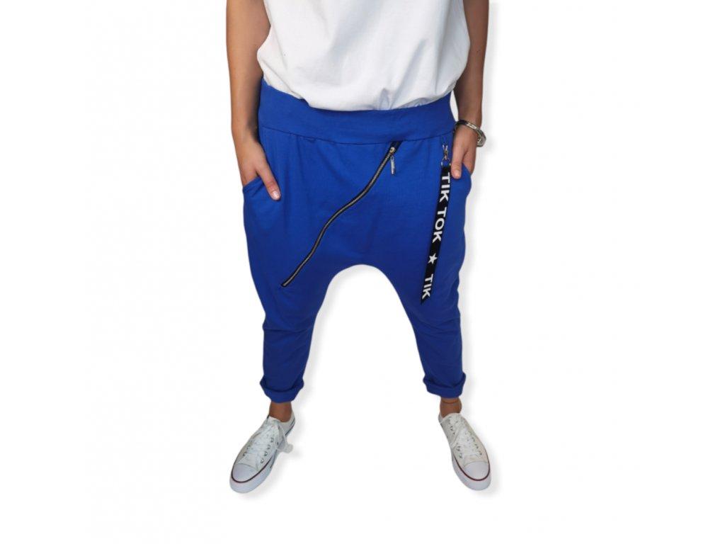 baggy zip modré..