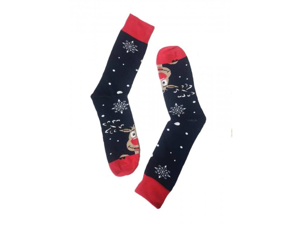 Pánské Vánoční ponožky modré