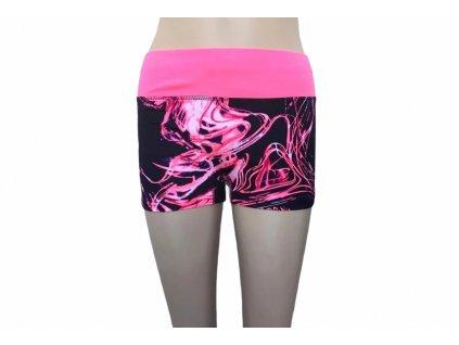 Dámské sportovní šortky růžové
