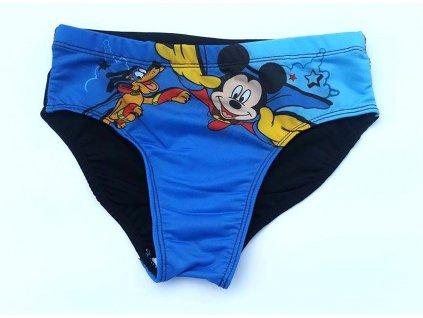 Mickey a pluto modro černé