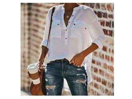 košile bílá foto