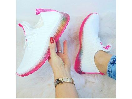 botasky bílé