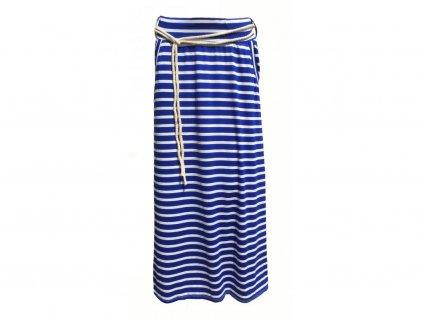 sukně modrá