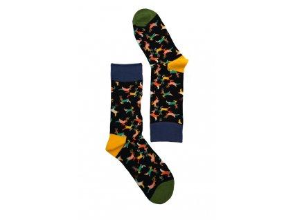 Dámské ponožky jeleni