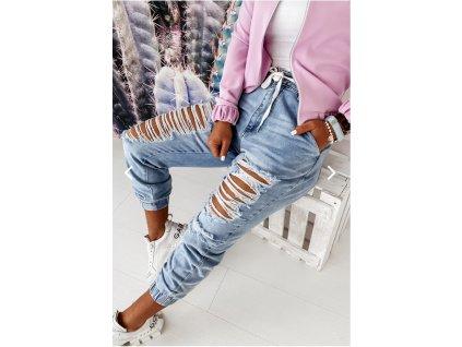 džíny trhané