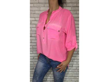 košile růžová