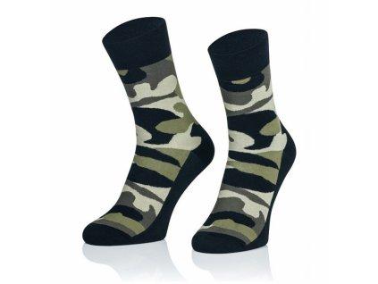 army ponožky zelené