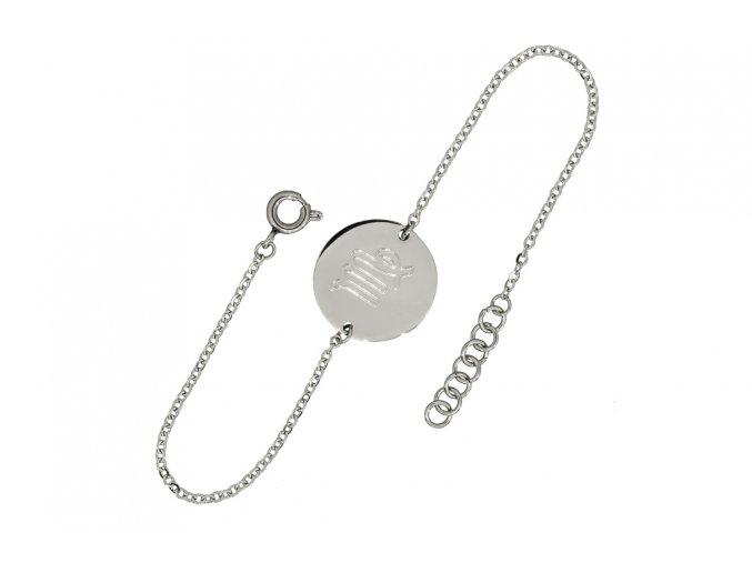 Náramek znamení-zodiak  Chirurgická ocel, dárkově zabaleno