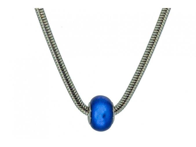 Swarovski koule náhrdelník - modrá