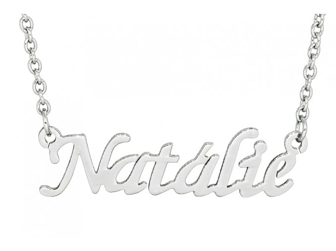 Řetízek se jménem - Natálie  dárkově zabaleno