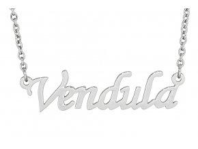 Řetízek se jménem - Vendula  dárkově zabaleno