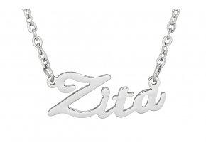 Řetízek se jménem - Zita  dárkově zabaleno