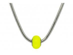 Swarovski koule náhrdelník - žlutá