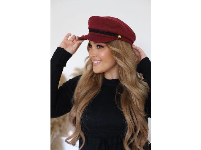 22376 bordova ciapka so siltom
