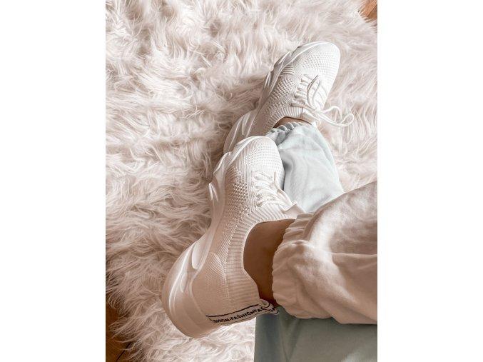 bílé tenisky (Veľkosť 41)