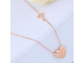 Zlatý náhrdelník Love Forever 2