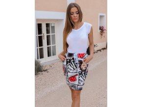 Barevná komixová sukně OH ... (Veľkosť S/M)
