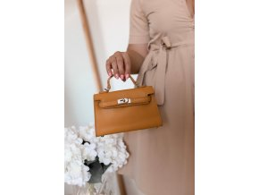 18068 3 trendy mini kabelka v zltej