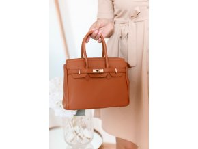 18074 4 elegantna hneda kabelka