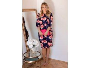 Květinové šaty Rose (Veľkosť XXXXL)
