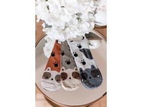 Set tří párů ponožek CUTE (Veľkosť 39-42)
