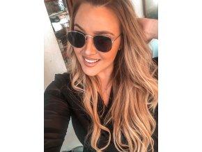 Tmavé sluneční brýle Mila