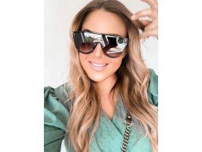 Černé sluneční brýle Siena