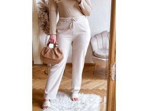 krémové kalhoty (Veľkosť XXL/XXXL)