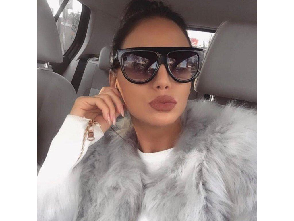 363f73123 Dámske okuliare Kim v čiernej | ZAZZA
