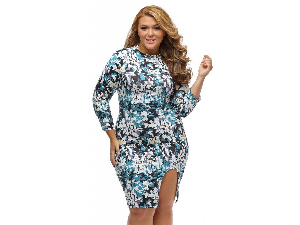 b2de8b99aad7 Unique Marble Print Big Girl Dress LC22851 22 3