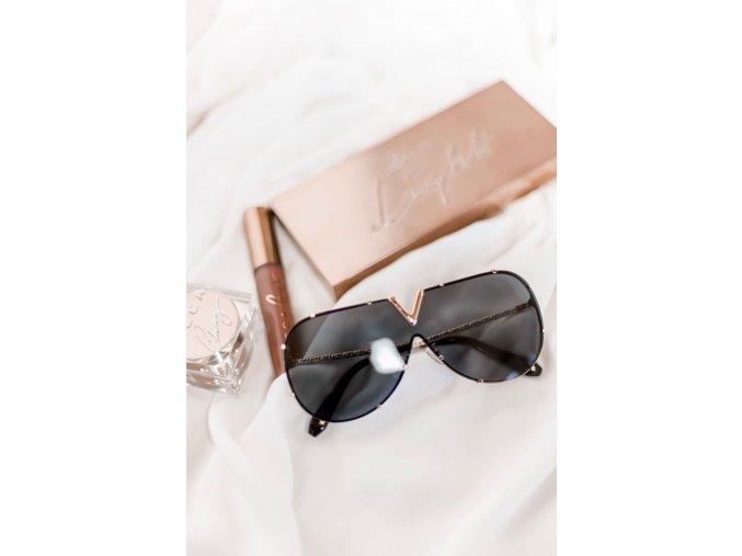 Tmavé slnečné okuliare Vixen