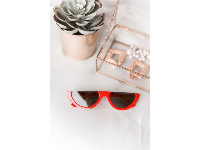 Trendy okuliare Domi v červenej
