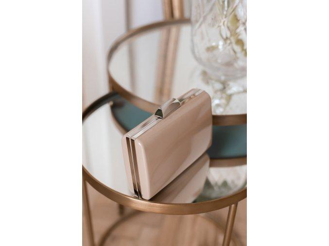 Béžová clutch kabelka