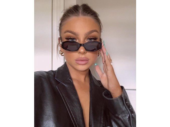 Čierne slnečné okuliare Ella