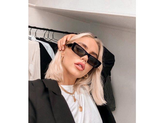 Čierne slnečné okuliare Vicky