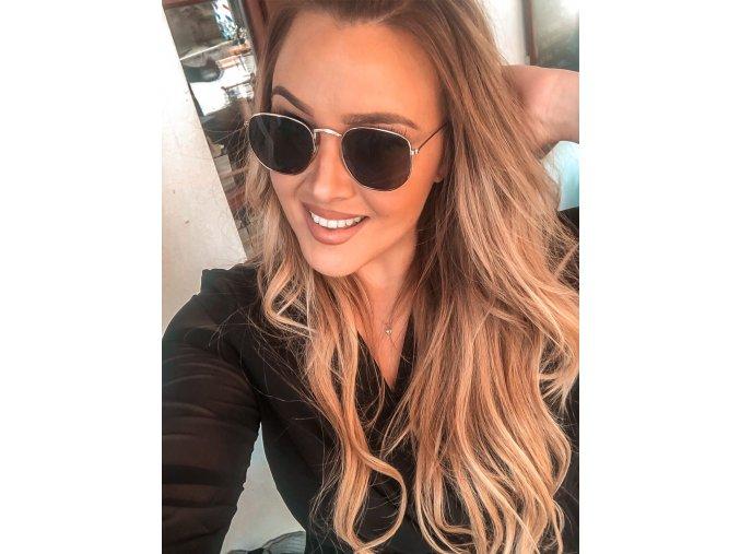 Tmavé slnečné okuliare Mila