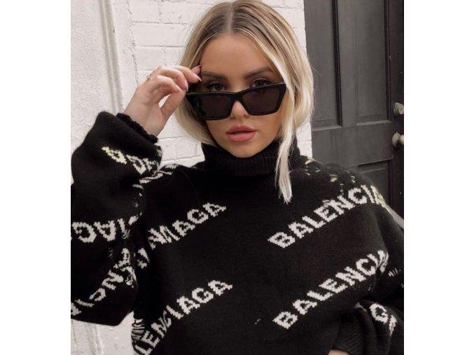 Čierne slnečné okuliare Sasha