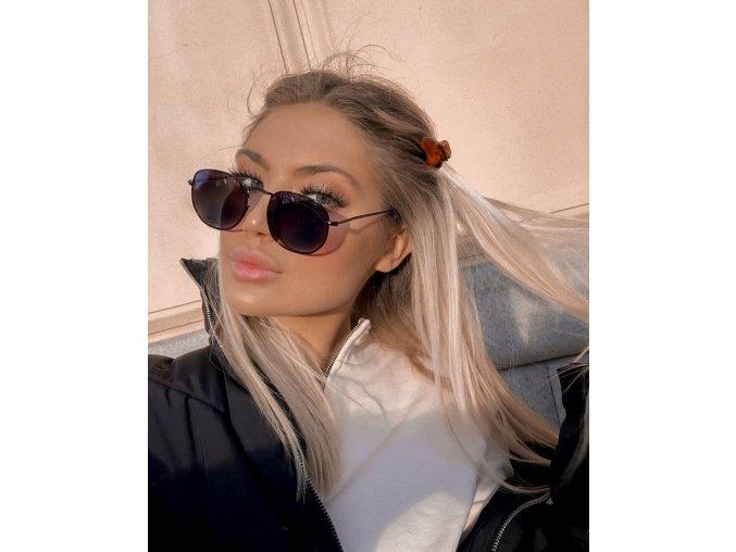Čierne slnečné okuliare Sarah