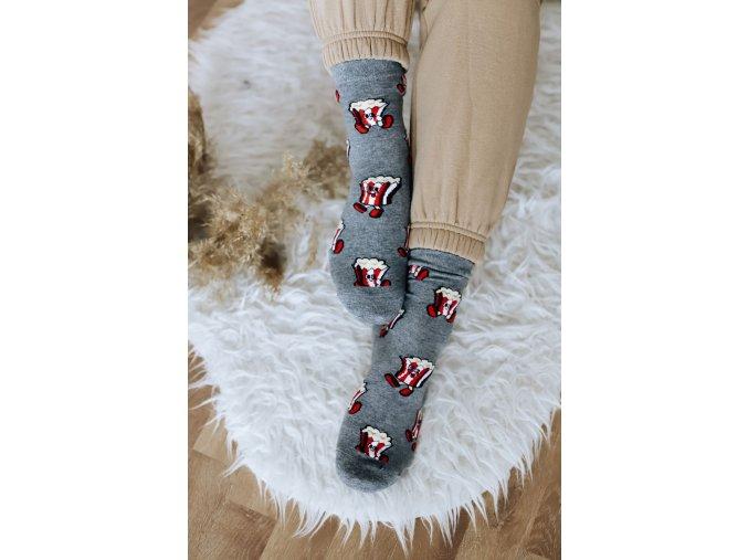 Veselé ponožky Popcorn